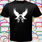 New Hollywood Undead Rock Rap Band Logo Men's Black T-Shirt Size S to 3XL