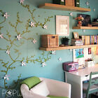 Flower Tree Branch Wall Decal Wall sticker for home office & nursery decoration