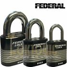 Federal High Security Rekeyable Van Shed Garage Steel Padlock FD8100 Series