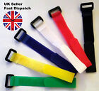 Hook & Loop Velcro Style Straps with buckle Cable Ties, Organiser, Cable Tidy