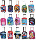 Childrens Small Cabin Trolley Suit Case Kids Boys Girls Disney Tv Travel Bag