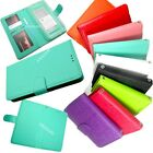 "5.5"" Universal Wallet Flip Slide Up Pouch Diary Cover Case Accessory Protector"
