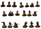 15mm Unpainted Sci-Fi Humans-HOF 15mm Humanity Miniatures Multi-Listing - 2