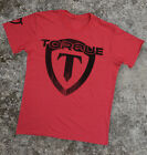 Torque Gravity Shield T-Shirt (Light Red) - mma bjj ufc