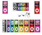 "8GB 8G MP3 MP4 MP5 Media Player 1.8"" LCD Screen FM Radio Games Video 9 Colors"
