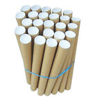 760mm Bulk Postal Tubes Packing Tubes + End Caps Cardboard Tube Parcel Poster