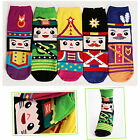 New Cartoon Unique Character Socks Womens Girl Casual Funny Socks Made In Korea