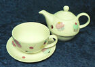 Cupcakes tea for one with teapot cup & saucer fine bone china, gift boxed if req