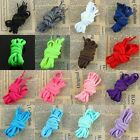 Flat Padded Oval Colored Shoe Laces Shoelaces Bootlaces Shoestrings 16 Colors
