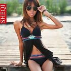Women's Padded Monokini Swimsuit Swimwear Nightwear Sexy Dress
