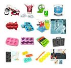 3D Shape Silicone Ice Cube Maker Freeze Mold Mould Drinks Party Ice Tray