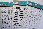 Craft Stickers/embellishment - Moustache, Eyes, Speech Balloons ...