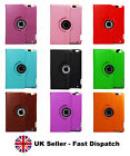 iPad Air Case and iPad Mini Leather Cover Case 360 Rotating Smart Folding Stand