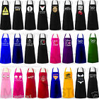 UNISEX LADIES WOMEN MEN ADULT APRONS NOVELTY CHEFS BUTCHERS KITCHEN CATERING BIB £2.99 GBP on eBay