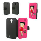 BETTY BOOP PERSONALISED PU LEATHER PHONE CASE SAMSUNG  S4 S5 S6 S7 S3/S4/S5 mini £6.99 GBP