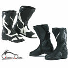 Spada ST1 Motorcycle Motorbike Sports Leather Boots Waterproof Breathable