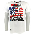 Marc Marquez 93 USA Celebration Moto GP T-shirt White Official New