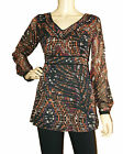 BRAND NEW LADIES MARKS AND SPENCER PER UNA PLUS SIZE LONG TUNIC TOP SIZES 8 - 22