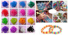 600pcs Loom Refill Bands Bracelet DIY Braided Rubber Bracelets With 24pcs clips