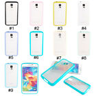 Fashion TPU Frame Soft Slim Matte Back Case Cover For Samsung Galaxy S5 SV i9600