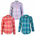 WOMENS TOKYO LAUNDRY MAY LADIES CHECKED PRINTED LONG SLEEVED SHIRT TOP SIZE 8-16