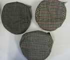 Mens Tweed Flat Cap Assorted Tweed Hats Hunting/ Shooting
