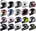 LS2 FF351 SOLID ACTION CORPS FLUO FLUTTER Full Face Motorbike Motorcycle Helmet