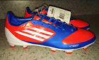 NEW Mens 8 9 ADIDAS F30 AdiZero TRX FG InfraRed Blue Soccer Cleats Futball Boots