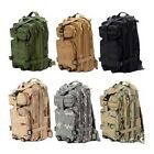 25L Men Outdoor Military Tactical Backpack Rucksack Camping Hiking Trekking bag