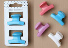 Coloured Hair Clamps Hairdresser Clamps Claw Clips Ladies Hair Accessory Clamp