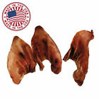 Natural Pig Ears for Dogs  / Pets - Bulk Dog Treats & Dog Chews,  Made in the USA