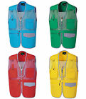 k mk14 mens mesh safari adventure photo waistcoat functional workwear work vest