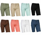 k mens slim fit stretch cotton blend casual basic flat front chinos pants shorts