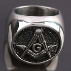 Men Stainless Steel Superman Masonic Cross Batman Claddagh Finger Ring Jewelry