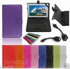 Keyboard Case Cover+Gift For 10.1 HANNSPREE SN1AT71BUE SN1AT71WUE Tablet TY6