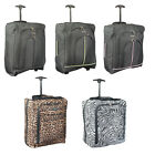 NEW EASYJET CABIN APPROVED BAGS TRAVEL WHEELED TROLLEY HAND LUGGAGE EXPANDABLE
