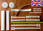 White Velcro Hook and Loop Cable tie, Strap, Fastener, Cable Ties, Rolls & Dots