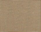 French Country Gingham Check Suede Brown Large Tootsie Roll