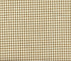 French Country Gingham Check Linen Beige Small Neck Roll Dec