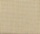 French Country Gingham Check Linen Beige Small Tootsie Roll