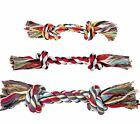 NEW Trixie Denta Fun Playing Rope For Dogs Puppies Tug Of War - Various Sizes
