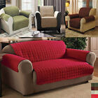 Quilted Sofa Furniture Chair Protector Slip Cover Throw For 1 / 2 / 3 Seater