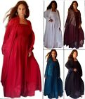 Spaghetti Strap Boho Maxi Dress Jacquard Long Jacket Set 8 10 12 14 18 20 24 28