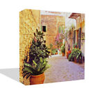 New Scenic Street Terrace Canvas Wall Art Premium Quality Print Framed To Hang