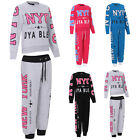 WOMEN LADIES BOTTOM NYC TROUSER FULL TRACKSUIT SWEATSHIRT ALL SIZES UK  **SALE**
