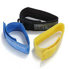 2Pcs Bicycle Hi Viz Reflective Bands Trousers Pant Clips Strap Bind Ankle Safety