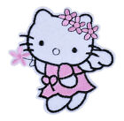 Hello Kitty Iron on embroidered Sew on Clothes Patch Girls Gift Present