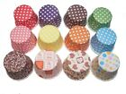 12/24/36 x Pleated Polkadot Muffin Cupcake Baking Cases Polka Dot Retro Vintage