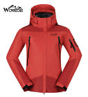 New Women 3in1 Windproof Breathable Winter Outdoor Ski Skate Snow Hooded Jackets