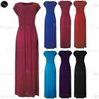 Womens High Waist Jersey Turn Up Batwing Sleeves Ladies Stretchy Long Maxi Dress